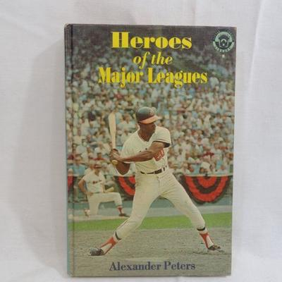 Lot 299 Heroes of the Major Leagues Vintage Book