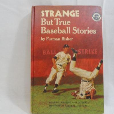 Lot 298 Strange But True Baseball Stories Vintage Book