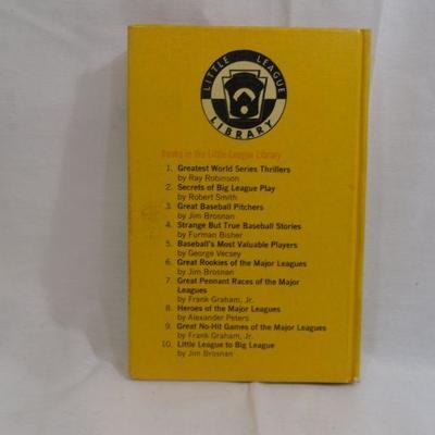 Lot 297 Little League to the Big League Vintage Book