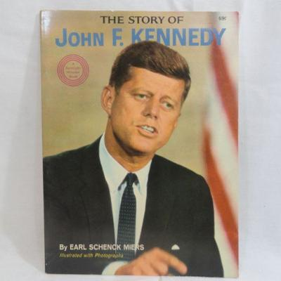 Lot 296 The Story of John F. Kennedy Vintage Book