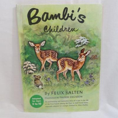 Lot 294 Bambi's Children Vintage Book