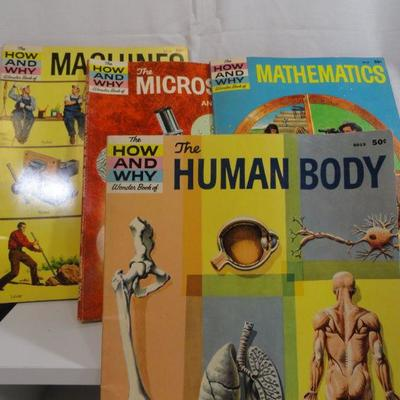 lot 292 How and Why Wonder Books Vintage