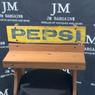 Rare and Vintage Pepsi Cola bench from 1978