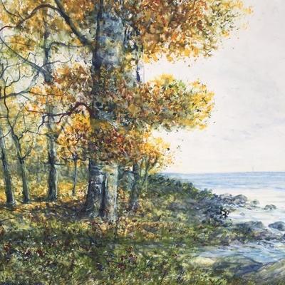RAPHAEL SENSEMAN (American,1870-1965) Original Watercolor in Paper