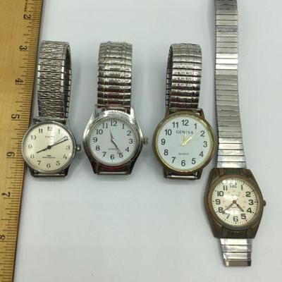 4 Vintage Men's Watches *NOT RUNNING*