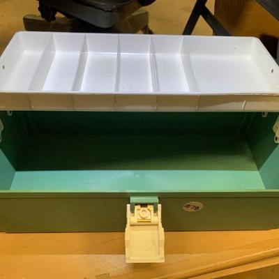 #78 Vintage Plano Tackle Box