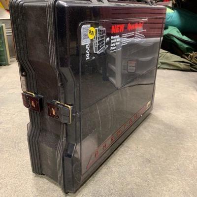 #81 Phantom Black Plano Double Sided Tackle Box