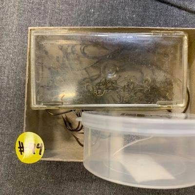 #94 Vintage Fish Hooks & Misc