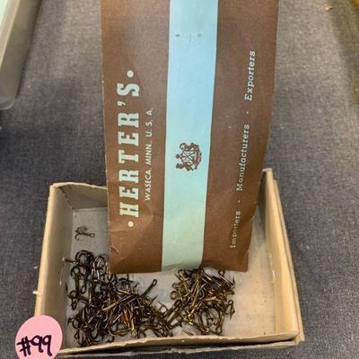 #99 Small Box of Used Hooks