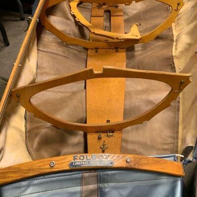 #3 Vintage Canoe FOLBOT Carefree Travel Craft