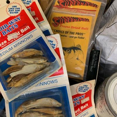 #20 Freeze Dried Bait, Fish Attract Formula & Misc.