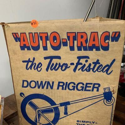 #21 Vintage Auto-Tac Down Rigger