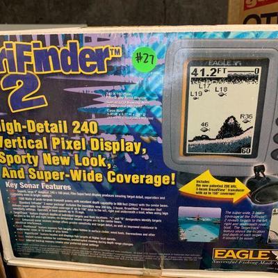 #27 TriFinder 2 Fish Finder