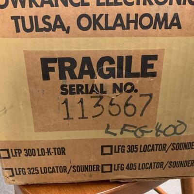 #28 Vintage LFG 400 Lowrance Fish Finder