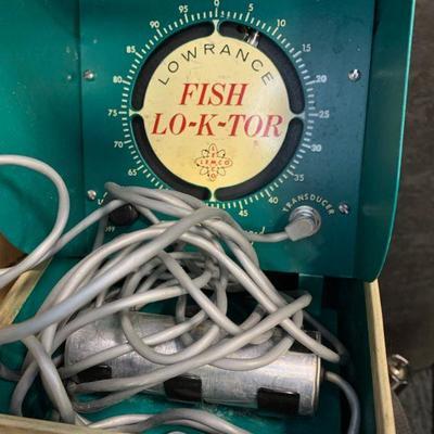 #32 Compass, Oxygen Temperature Probe & Vintage Fish Lo-K-Tor
