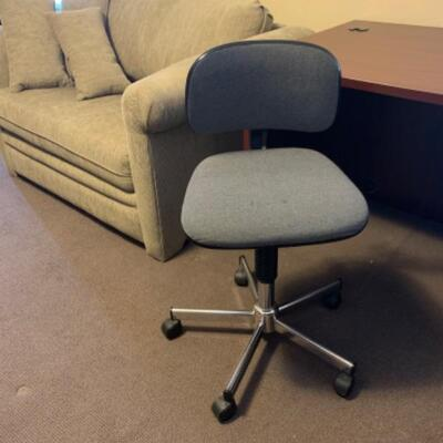 """12. Desk and chair(47.5""""x29.5""""x30"""")"""