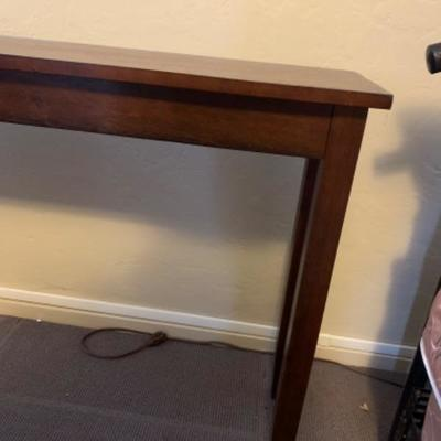 """13. Library table (48""""x11.75""""x30"""")"""