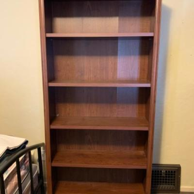 """14. Pair of bookcases (35.5""""x36.5x12"""" and 28""""x30""""x12"""")"""