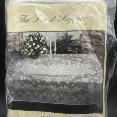 The Last Supper Lace Tablecloth