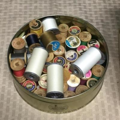 Mixed Lot of Sewing Thread