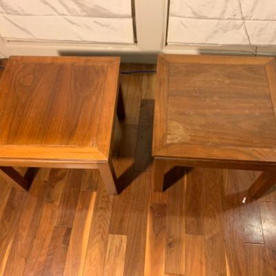 5. Pair of Wood End Tables