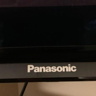"8. Panasonic Flat Screen TV 50"" With Remote"