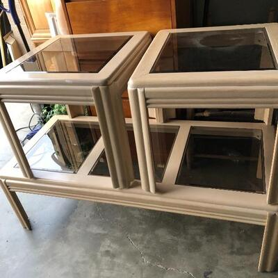 Always have end tables and coffee tables