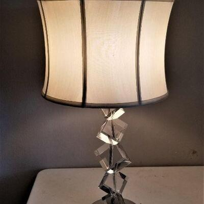 Lot #13  Stylish Contemporary Table Lamp