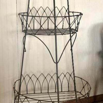 Tall Wire Plant Stand