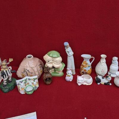 Random ceramic collectibles