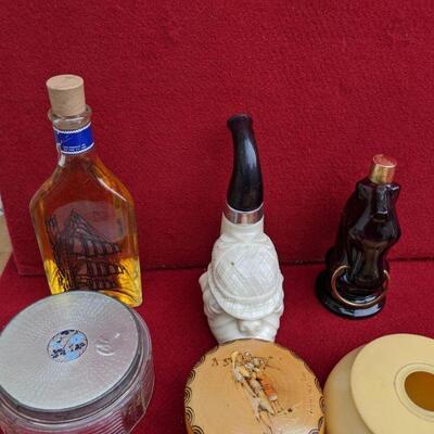 Vintage avon and powder cases