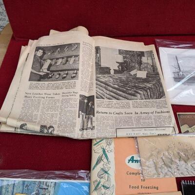 Vintage Paper collectible advertisement