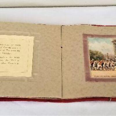 Lot #19  Vintage Trooping the Color book in original box - George V