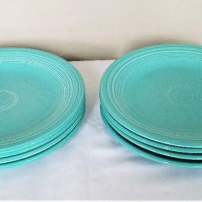 Lot #20  8 Vintage Fiesta Dinner Plates