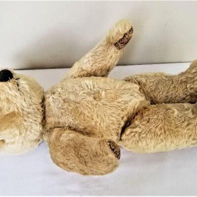 Lot #21  Precious Vintage Mohair Jointed Teddy Bear - a cutie!