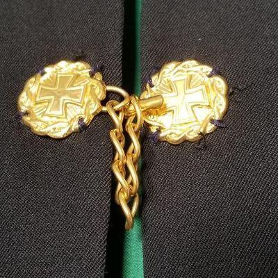 Lot #22  Order of St. Lazarus of Jerusalem Cape - good condition