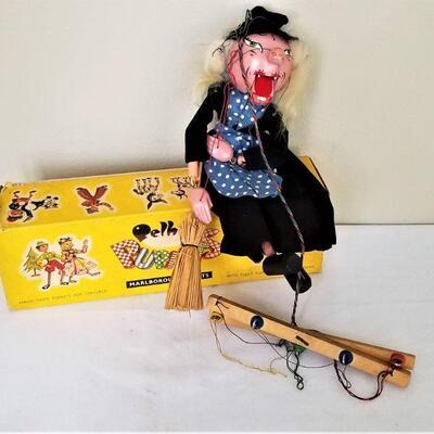 Lot #29  Vintage Marionette - Pelham Puppets, England - original box