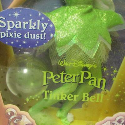 Lot 1 - Disney Sparkly Pixie Dust Tinkerbell Doll Mattel  - Target Exclusive