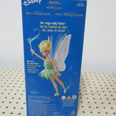Lot 3 - Disney Store Tinker Bell Fairy Flutter Wings Doll