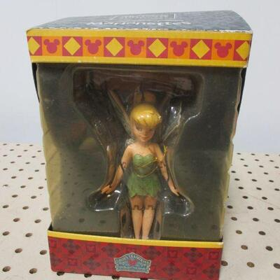 Lot 7 - Disney Traditions Jim Shore Tinkerbell Marionettes