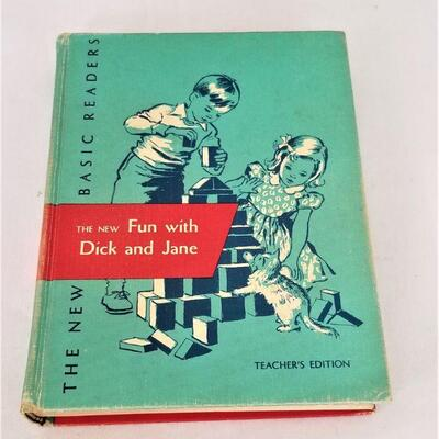 Lot #32  Scarce 1956 Teacher's Edition - Fun with Dick and Jane