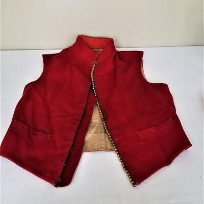 Lot #35  19th Century British Officer's Vest - museum piece