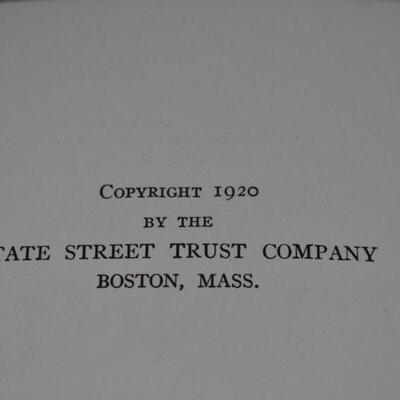 Towns of New England & Old England Ireland & Scotland (1620-1920)