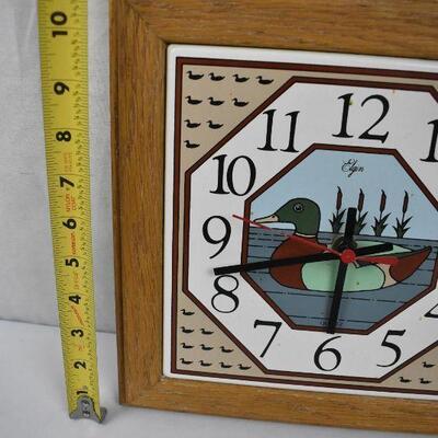 Wall Clock. Duck Theme, 11