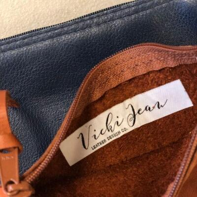 Lot 3 NWT Leather Vicki Jean Bags (1)