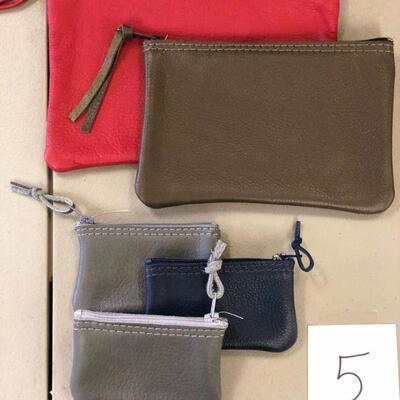 Lot 5 NWT Leather Vicki Jean Bags (2)
