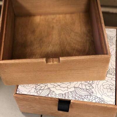 Lot 6 Set of 2 New Jewelry/Décor Storage Boxes