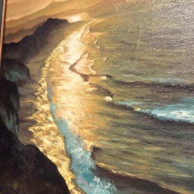 Lot 19 Signed Original Oil Painting Framed