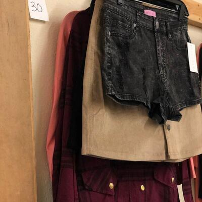 Lot 30 NWT Medium Jacket, Top, Skirts, Shorts