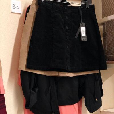 Lot 33 NWT Medium Jacket, Top, Skirts